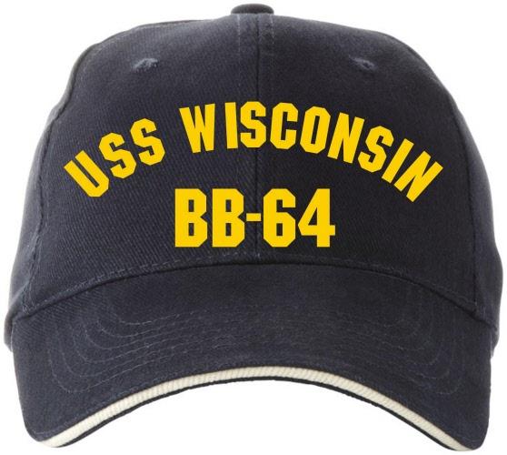 Cap USS Wisconsin BB-64 | capwisconsin