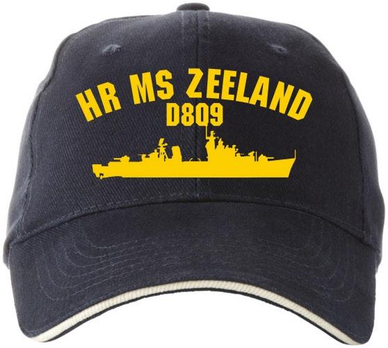 Cap Hr Ms Zeeland met contour | CapD809contour